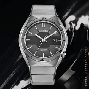 Citizen Eco-Dr Super Titanium Armor NWT